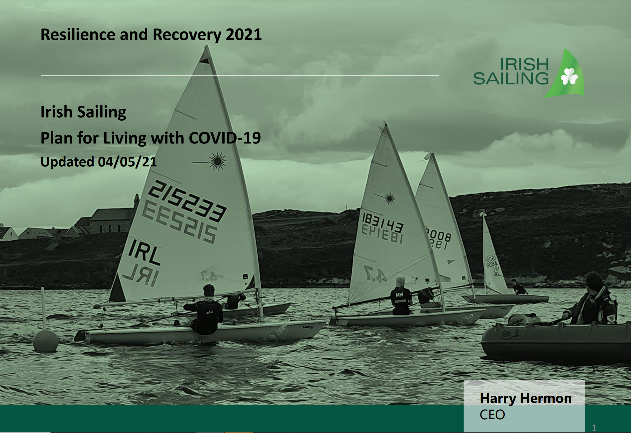Return to Sailing Covid 19 Guidlines